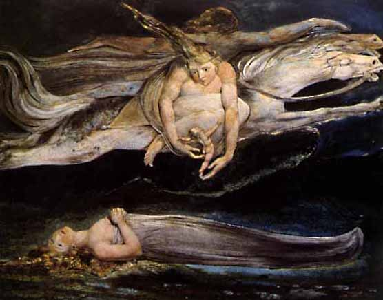 Why william blake was called the columbus of the psyche